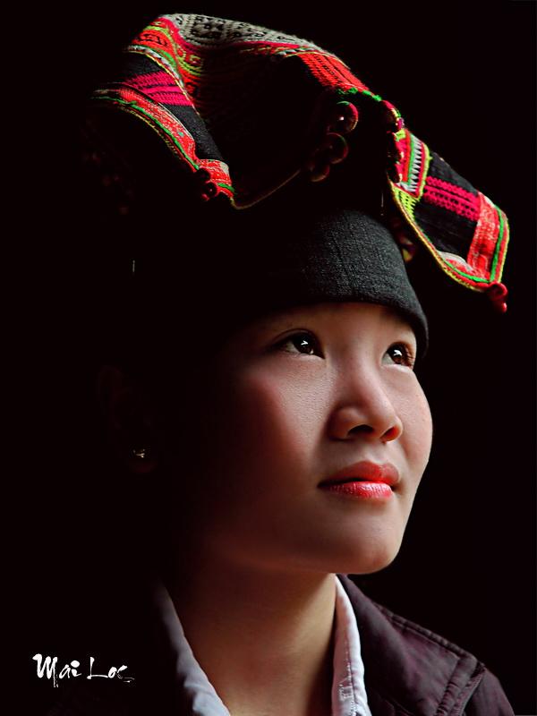 Black Thai lady in Son La