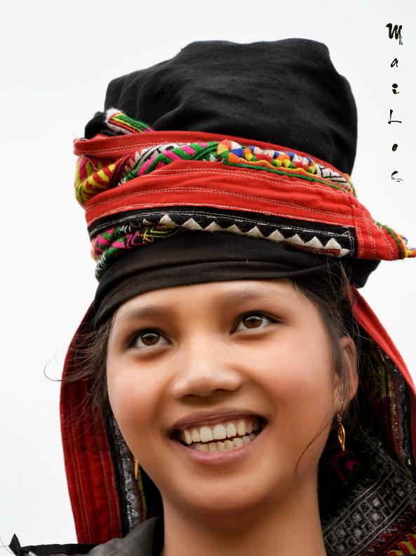 Black Thai lady in Son La ,Vietnam