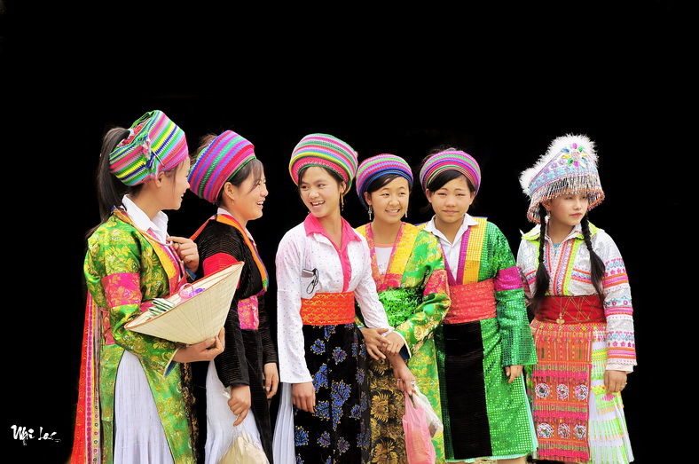 H'Mong girls in Ha giang