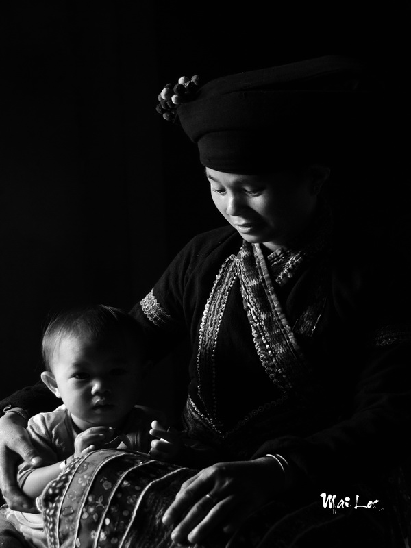 In the Mother's arms-Photo taken 29th-September-2014-By Mai Loc