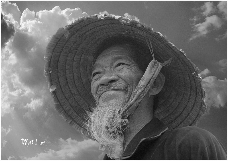 The farmer portrait -Photo taken 9th-April-2008-By Mai Loc